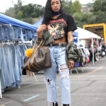 Dior, handmade, levi's, louie vuitton, missguided, pasadena, rose bowl flea market, street style, Vintage
