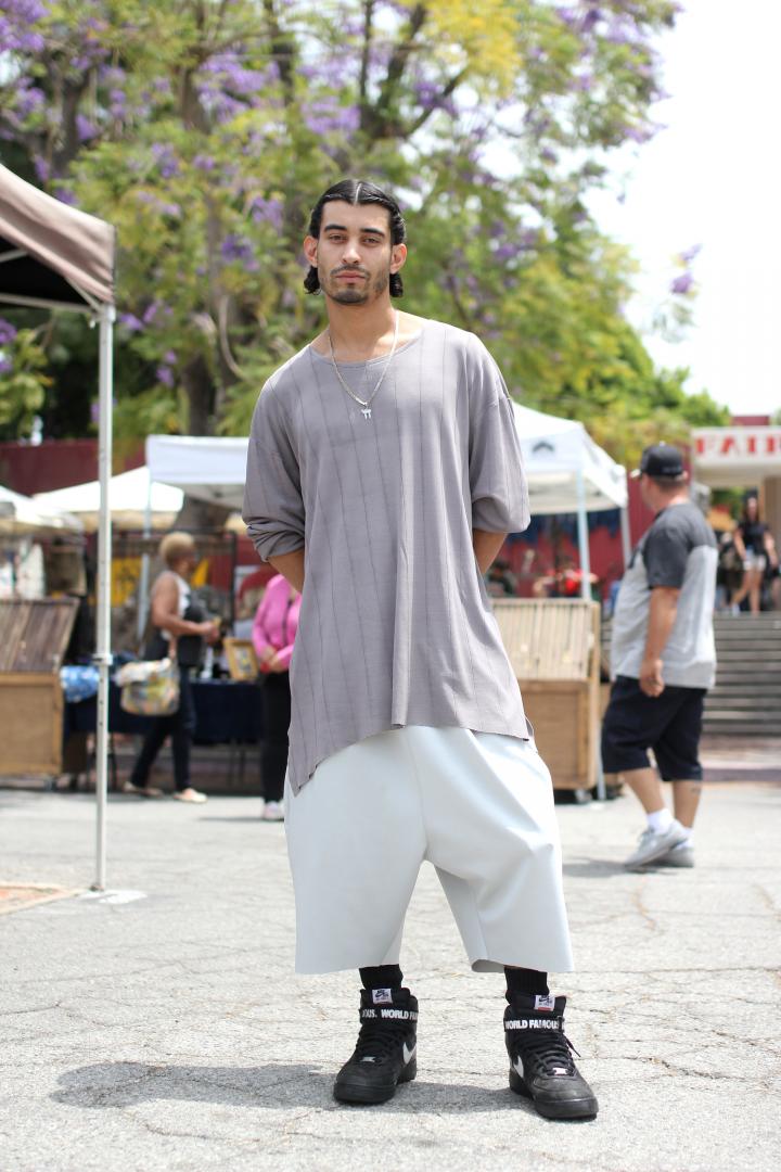 Flea Market, Melrose, Nike, the psylence, street style,