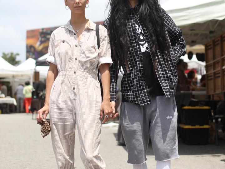 dkny, fairfax flea market, Flea Market, happy socks, Melrose, Nike, stussy, Vans, versace, Vintage, street style,