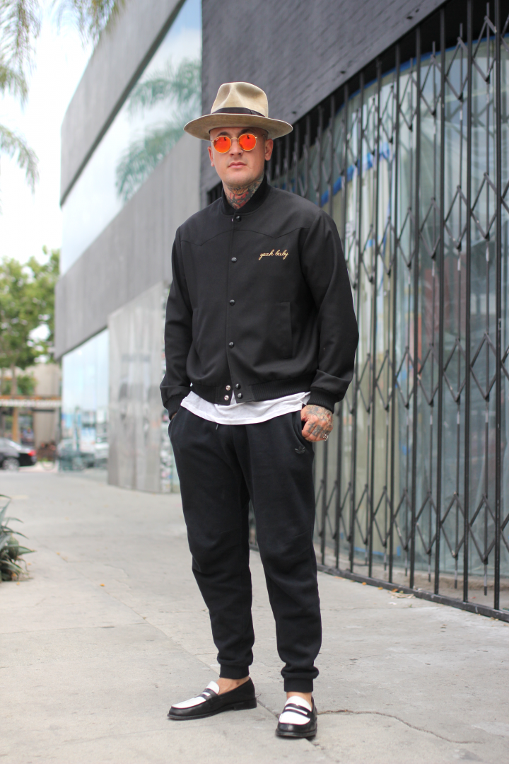 Adidas, gunner fox, kelly cole, Melrose, ray-ban, Ray-bans, saint laurent, street style,