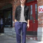 Calvin Klein, epokhe, H&M, issey miyake, kris van ashe, Larchmont, levi's, Vintage, street style