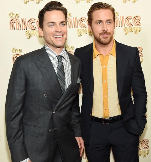 Matt Bomer and Ryan Gosling Showcase Their Casual-Cool ...