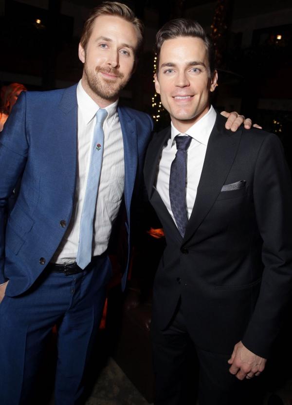 Ryan Gosling and Matt Bomer