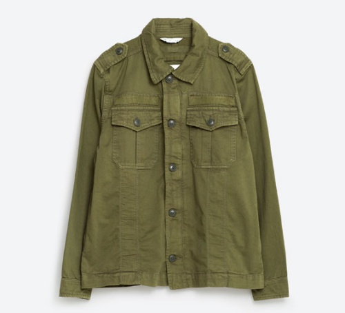 Military Safari Jacket