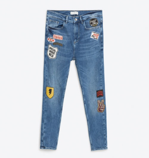 zara offers cool new patch designs and denim styles for men qunel