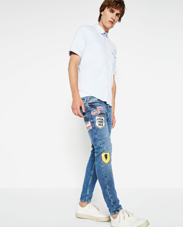Zara Man Patch & Denim