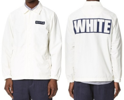 White Mountaineering Coach Jacket