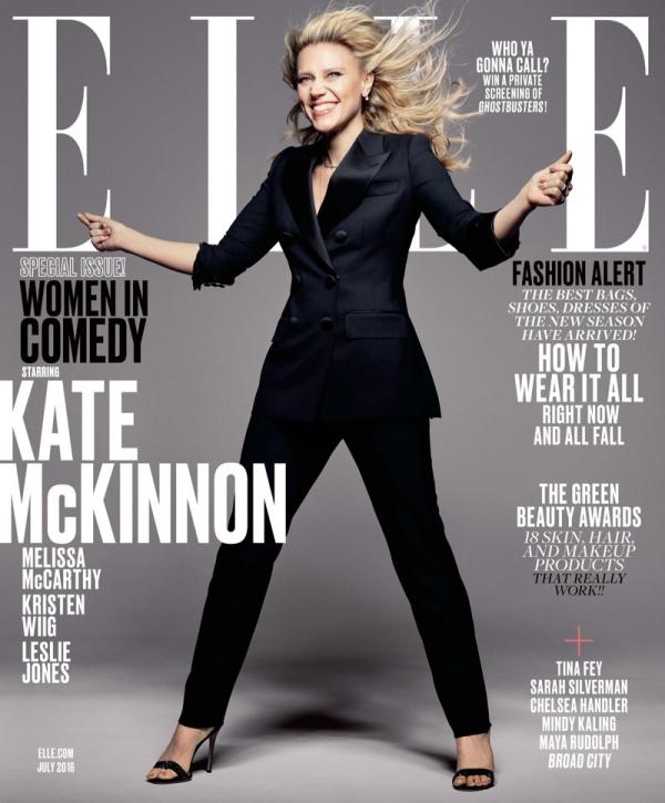 Kate McKinnon for Elle