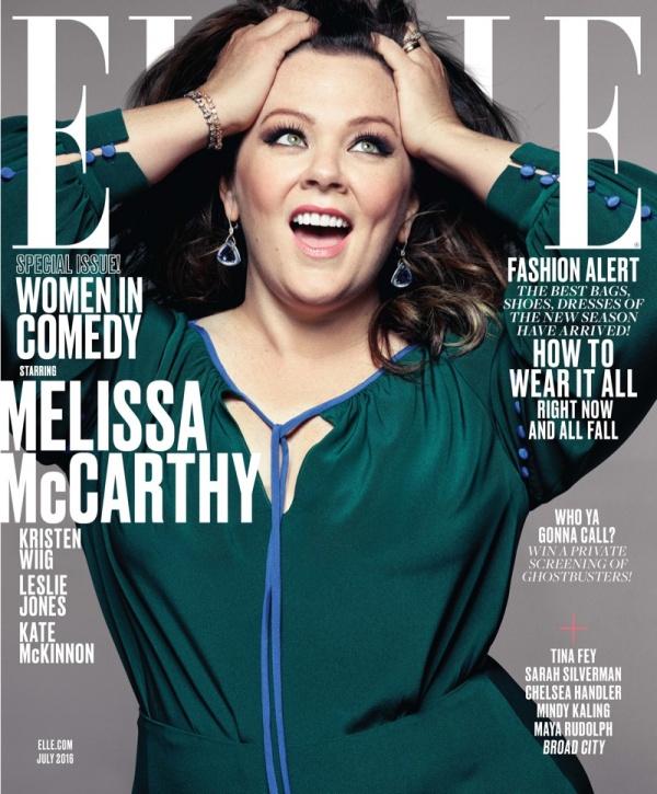 Melissa McCarthy for Elle