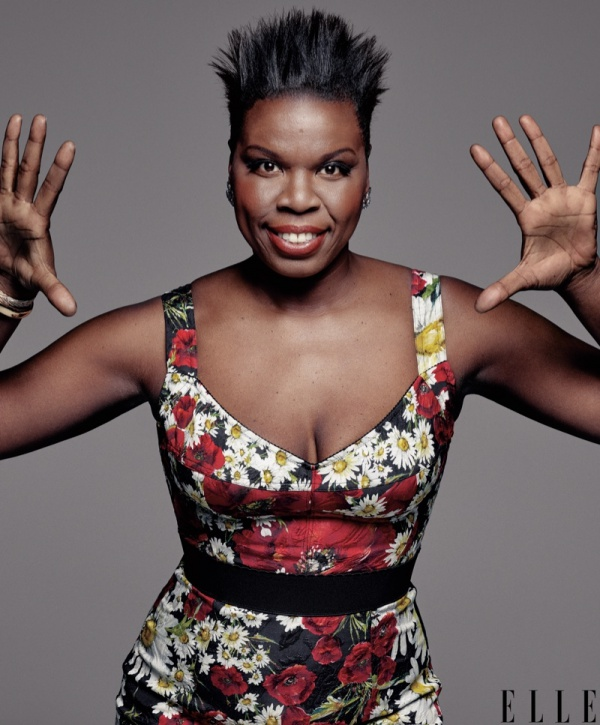 Leslie Jones for Elle