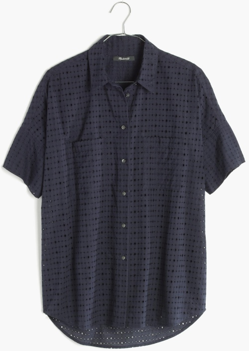 Eyelet Courier Shirt