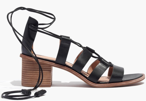 The Daniela Lace-Up Sandal