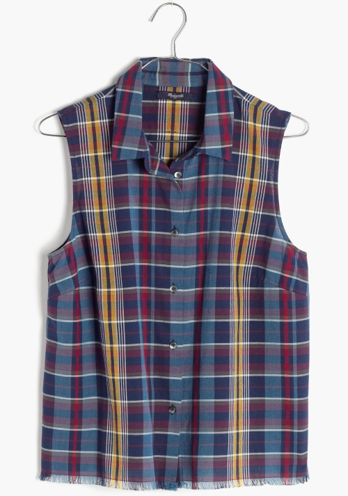 Moment Shirt in Madras Plaid