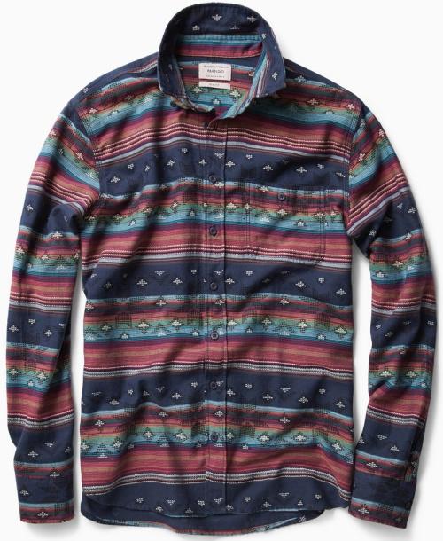 Slim-Fit Jacquard Shirt