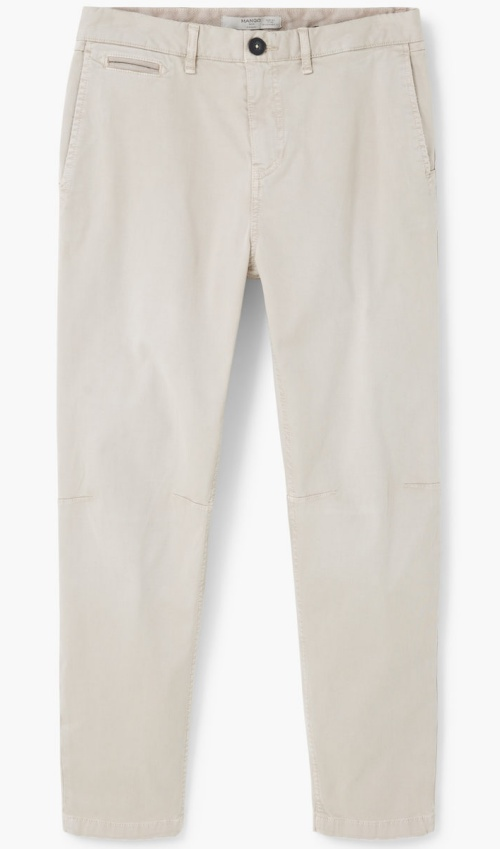 Slim-Fit Canvas Chinos