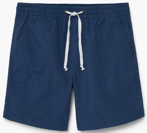 Cotton Canvas Bermuda Shorts