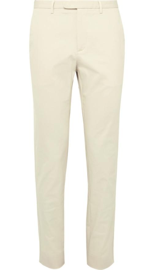 Gucci Slim-Fit Stretch-Cotton Gabardine Trousers