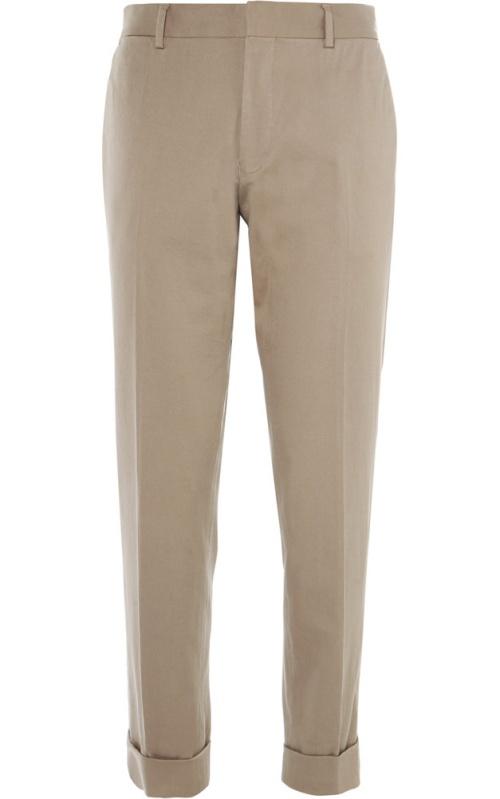 Dries Van Noten Slim-Fit Stretch-Cotton Trousers