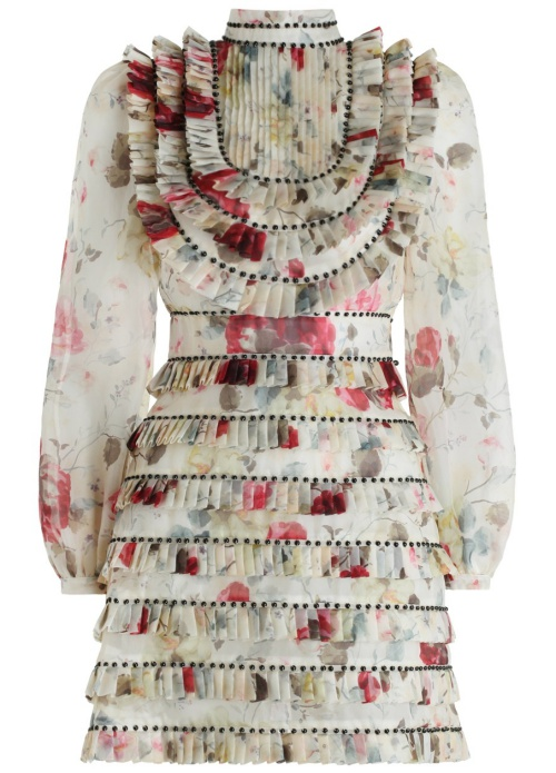 Zimmermann Mischief Pleated Dress