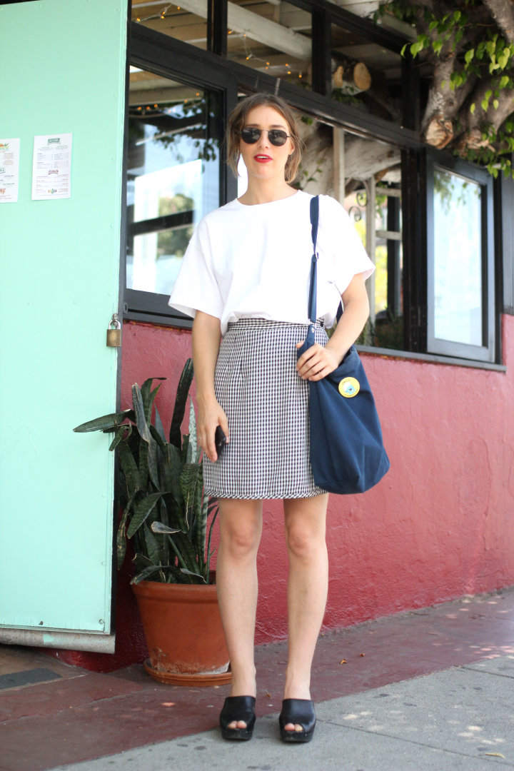 charlotte stone, goodwill, silverlake, street style, Vintage