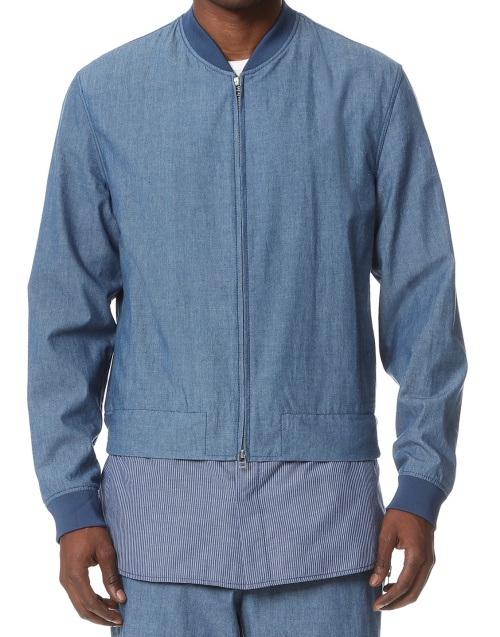3.1 Phillip Lim Harrington Jacket with Zip Off Shirt Hem