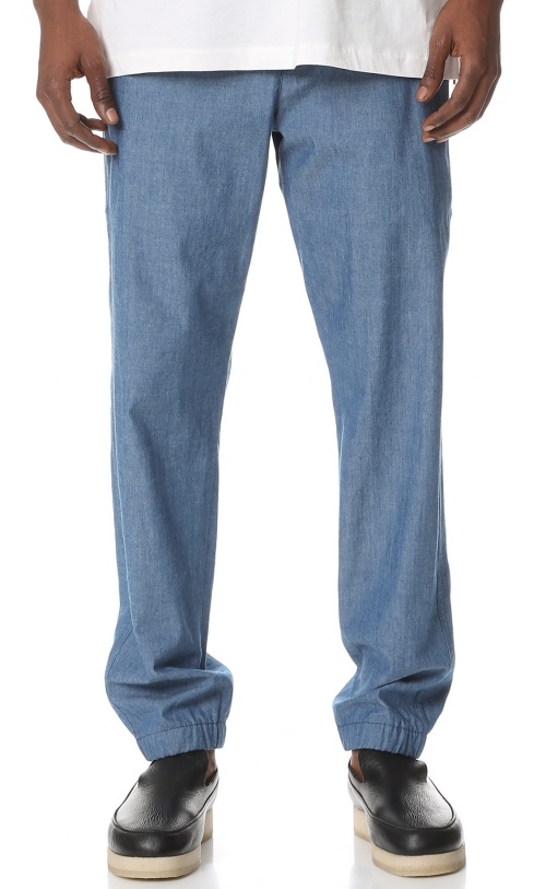 3.1 Phillip Lim Utility Pants with Side Zip Pockets