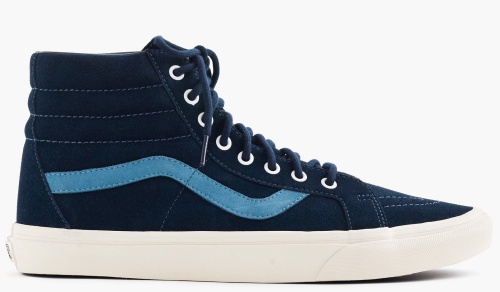 Vans for J.Crew Sk8-Hi Sneakers in Suede