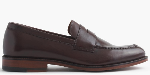 Ludlow Penny Loafers in Cigar Brown