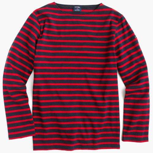 Saint James Unisex Meridien II Nautical T-Shirt