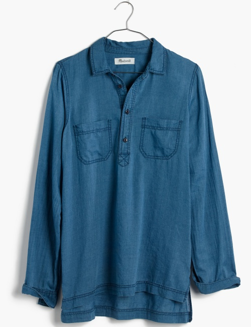 Indigo Popover Shirt