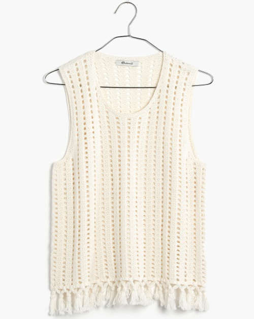 Fringe Sweater Tank