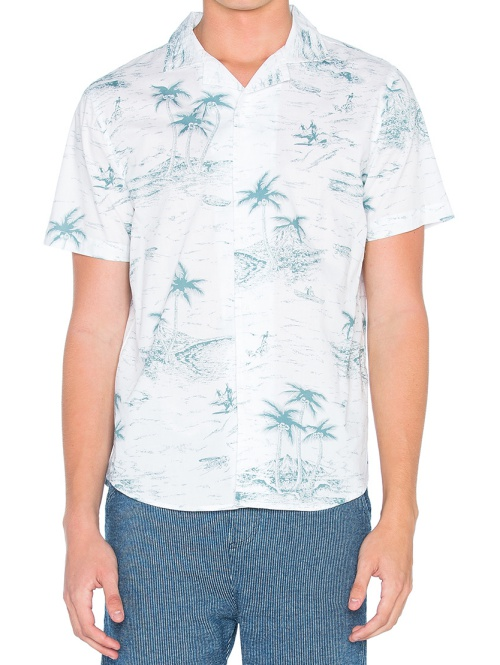 Native Youth Hawaii Sketch Shirt