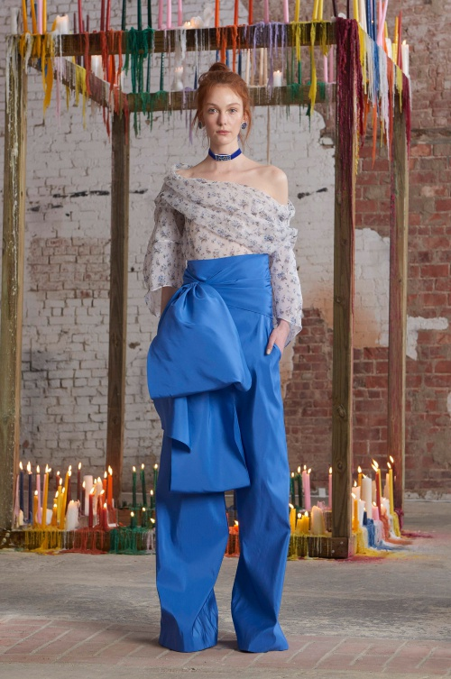Rosie Assoulin Fall 2016 Look
